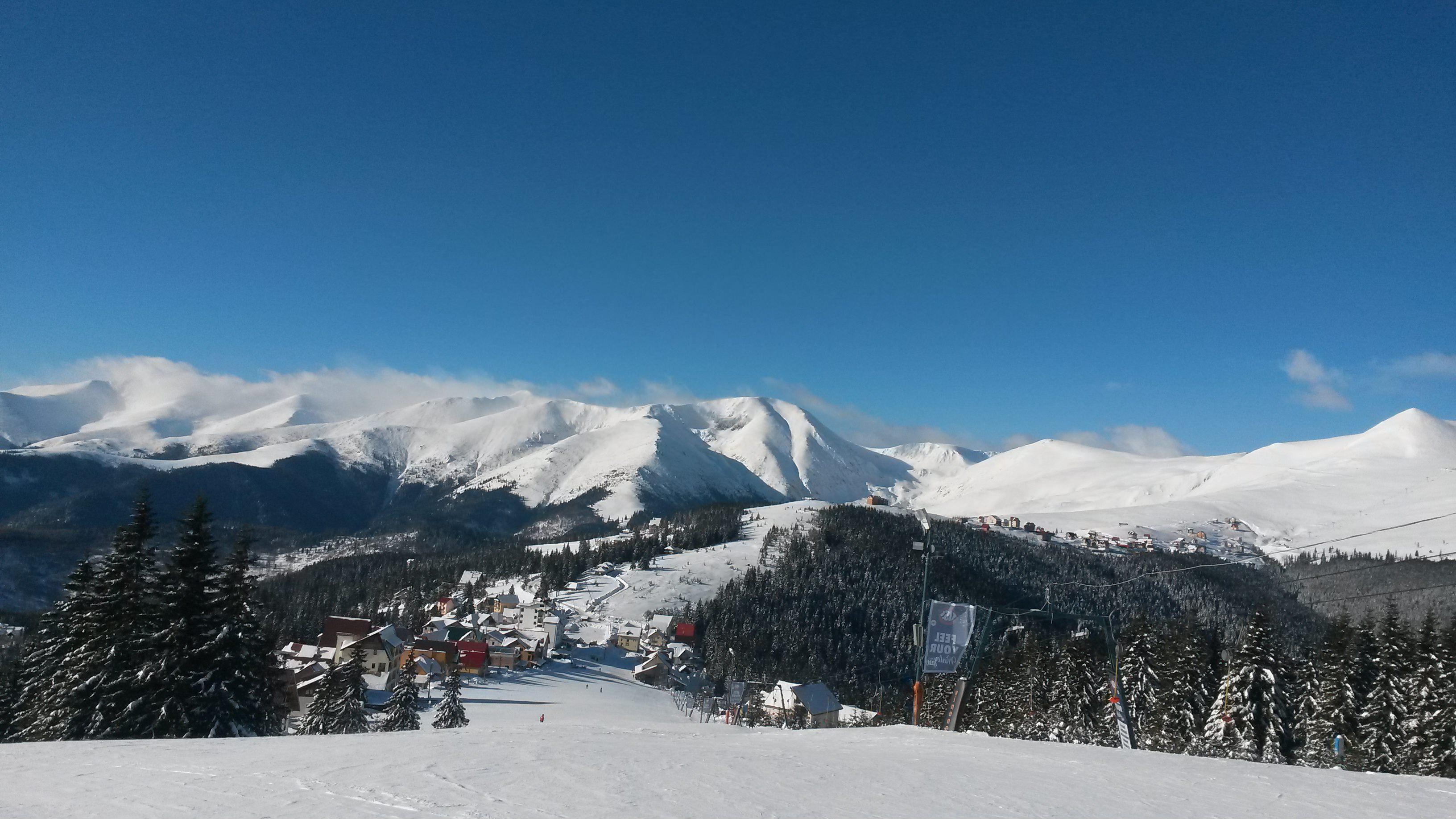 Vedere panoramica partia M1 Ranca